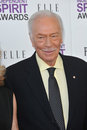 Christopher plummer Fotografia Stock