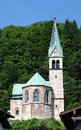 Christuskirche berchtesgaden the protestantic at Stock Image