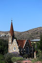 Christuskirche in windhoek christians church namibia Stock Image