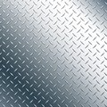 Chrome Diamond Plate Realistic Vector Graphic Illustration Royalty Free Stock Photo