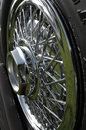 Chrome Spoked Wheel