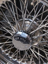 Chrome wheel Royalty Free Stock Photo