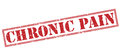 Chronic pain red stamp