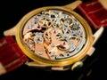 Chronographe Watch Movement - Valjoux 23 Royalty Free Stock Photo