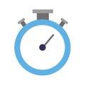 Chronometer timer isolated icon Royalty Free Stock Photo