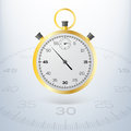 Chronometer vectorillustratie Stock Foto's