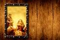 Chrristmas templates Nativity Scene Royalty Free Stock Photo