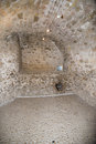Château d if prison cell a inside the the is a fortress later a located on the island of about a mile Royalty Free Stock Photo