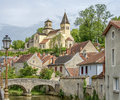Châtillon sur seine the ancient little town of is situated in the burgundy region of france about kilometres from the source of Royalty Free Stock Photo