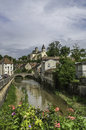 Châtillon sur seine the ancient little town of is situated in the burgundy region of france about kilometres from the source of Stock Image