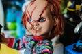 Chucky Figurine Royalty Free Stock Photo