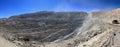Chuquicamata, world's biggest open pit copper mine, Chile Royalty Free Stock Photo