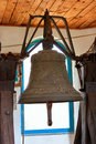 Church age-old bronze bell Stock Photos