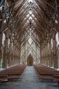 Church Aisle Royalty Free Stock Photo
