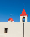 Church in akko catholic st john s acre israel Stock Image