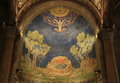 Church of all nations basilica of the agony in jerusalem israel Royalty Free Stock Photography