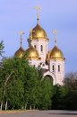 Church of all saints on the mamayev kurgan in volgograd Stock Image