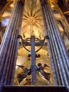 Church altar Royalty Free Stock Image