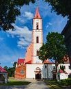 Church of the annunciation to the blessed virgin mary kretinga town lithuania Royalty Free Stock Image