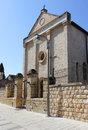 Church of the Apostle Nathanael Bartholomew, Cana, Israel Stock Photos