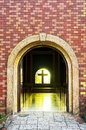 Church Arch Entrance Royalty Free Stock Photo