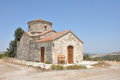 The church of the archangel michael lefkara cyprus Stock Images
