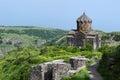 Church in the armenian caucasus near amberd fort armenia Stock Images