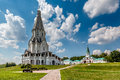 Church of the ascension in kolomenskoye moscow russia Stock Photos