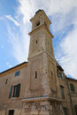 Church in bardolino borgo garibaldi lake garda veneto italy Royalty Free Stock Photography