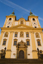 Church baroque architecture Czech Republic Stock Photography