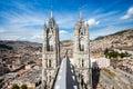 Church of the Basilica del Voto Nacional, Quito, Ecuador