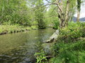 Church beck view of coniston Royalty Free Stock Photo