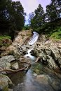 Church beck water falls coniston Stock Photography
