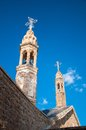 Church bell the prominent towers of dayro d mor gabriel mardin turkey Royalty Free Stock Photo
