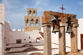 Church and bells on Patmos Royalty Free Stock Photo