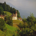 Church in berchtesgaden germany maria gern Royalty Free Stock Photos