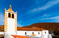 Church in Betancuria in Fuerteventura Stock Image