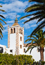 Church in Betancuria on Fuerteventura Royalty Free Stock Photos