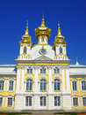 Church of the Big Palace, Peterhof, Russia Stock Photo