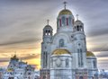 Church of Blood,Yekaterinburg Royalty Free Stock Photo