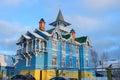 Church of the brotherhood of temperance of Churikov