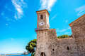 Church in Cannes Royalty Free Stock Photo