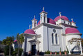 Church in Capernahum Royalty Free Stock Photos