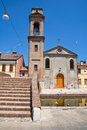 Church of Carmine of Comacchio. Italy. Royalty Free Stock Photo