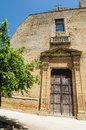 Church in castelvetrano sicily italy Royalty Free Stock Images