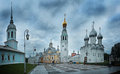 Church cathedral at evening city orthodox Stock Photos