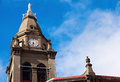Church in the center of punta arenas chile Royalty Free Stock Photography