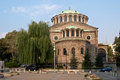 Church in the centre of Sofia, Bulgaria Stock Photos