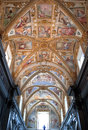 Church of certosa di san martino naples italy august murals inside the on august in the was built in Royalty Free Stock Photo