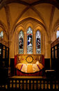 Church chancel Royalty Free Stock Photography